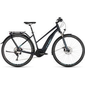 Cube Touring Hybrid Pro 500 Bicicletta elettrica da trekking Trapez blu